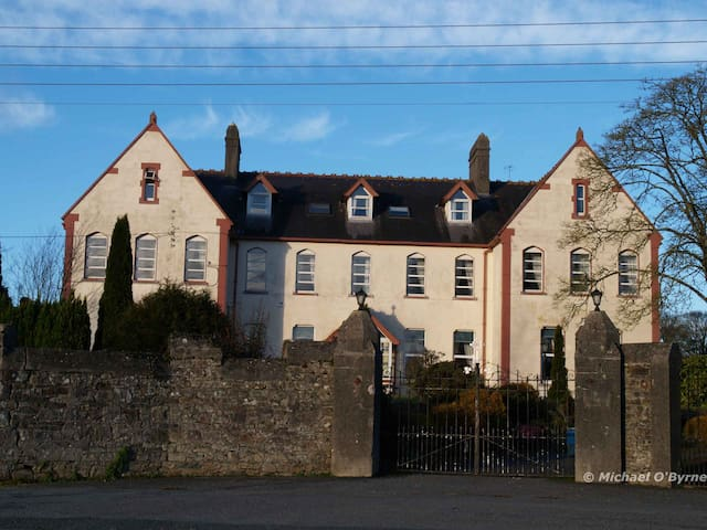 The old Convent of Mercy, Thomstown, the nuns have moved on some 20 years ago, it was a nursing home but is now sadly derelict.