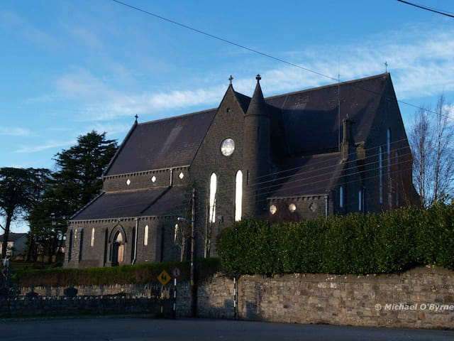 Church of the Assumption, Thomastown where we all try to connect at times with the Man above. Not always I am afraid succeeding