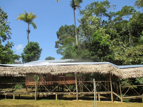 EXPLORER LODGE EN EL AMAZONAS