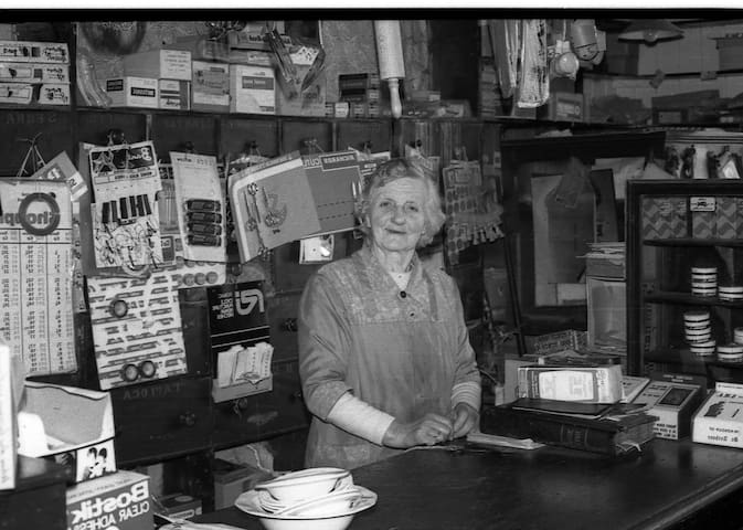 Here is a lady now passed to her reward who ran a hardware shop in Thomastown..Mrs. Ryan now owned by Liam Reddy, my neighbour.