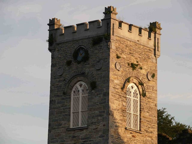 Tower on top of Church in Market Street Thomastown