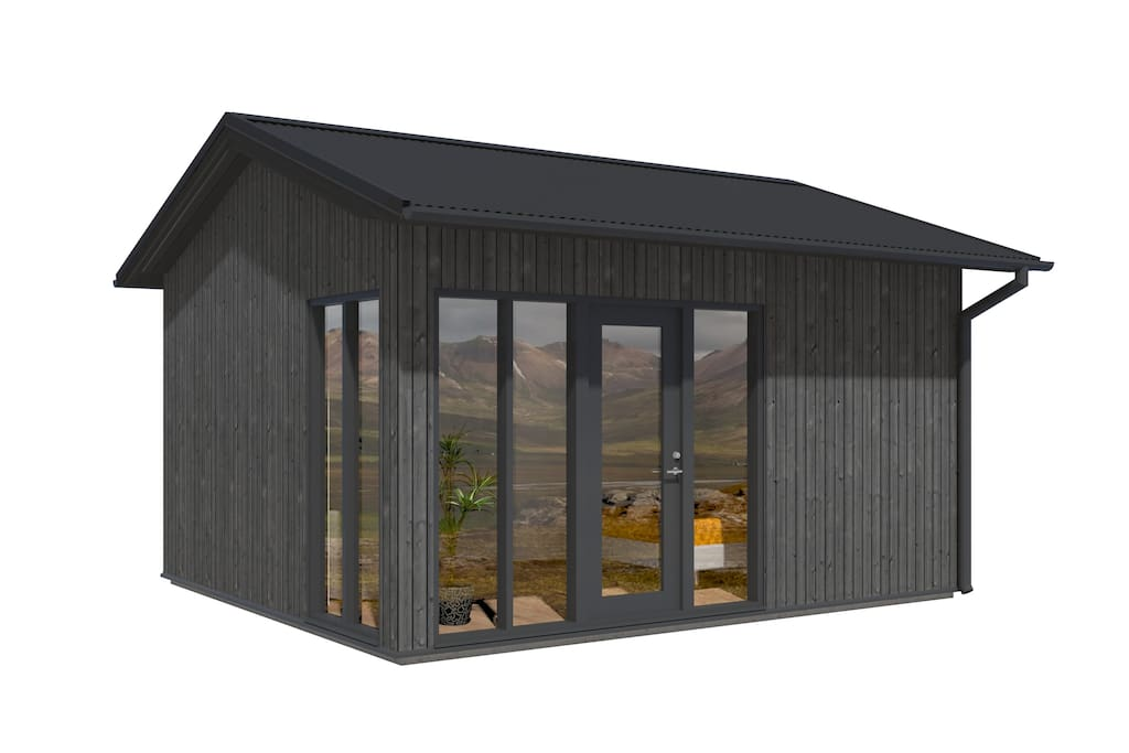 The chalets are new and will be ready in the beginning of july