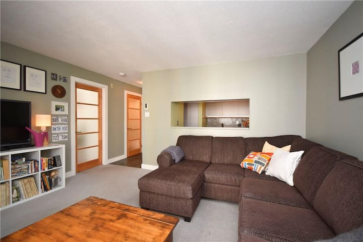 Modern, Quiet, fully equipped 1 bedroom condo - Ottawa - Apto. en complejo residencial