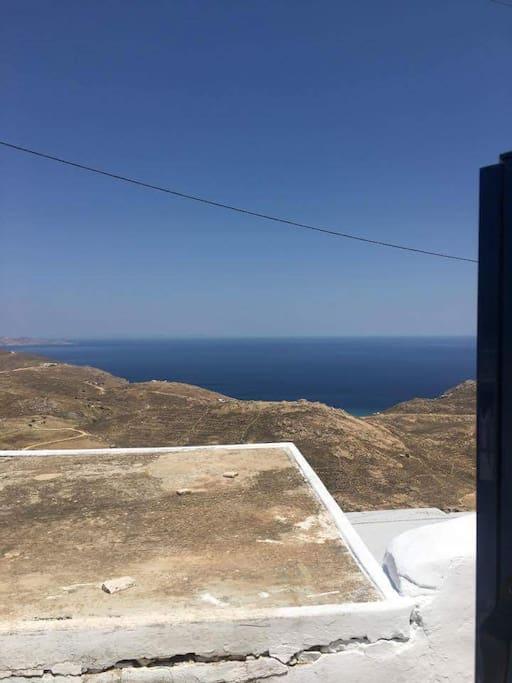 View from the door