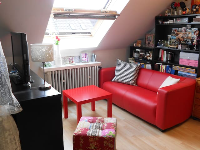 Cozy private room in row house - Erding - House