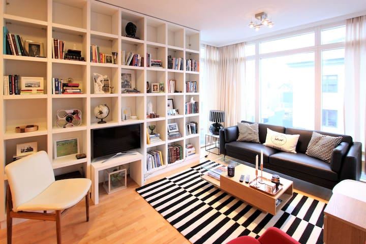Modern & Bright Apartment in Reykjavik City Center
