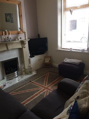 Whole house in Carlisle near city centre
