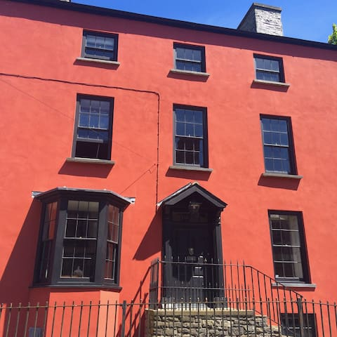 Rosetta - Beautiful Georgian house in Laugharne - Laugharne - Bed & Breakfast
