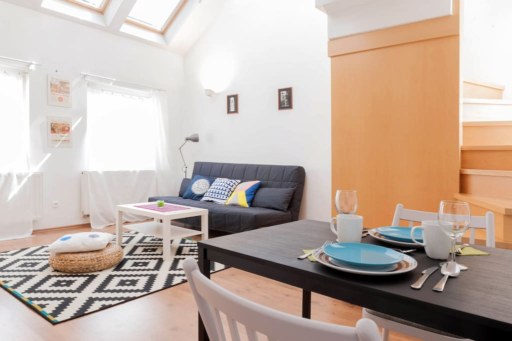A charming loft near the central