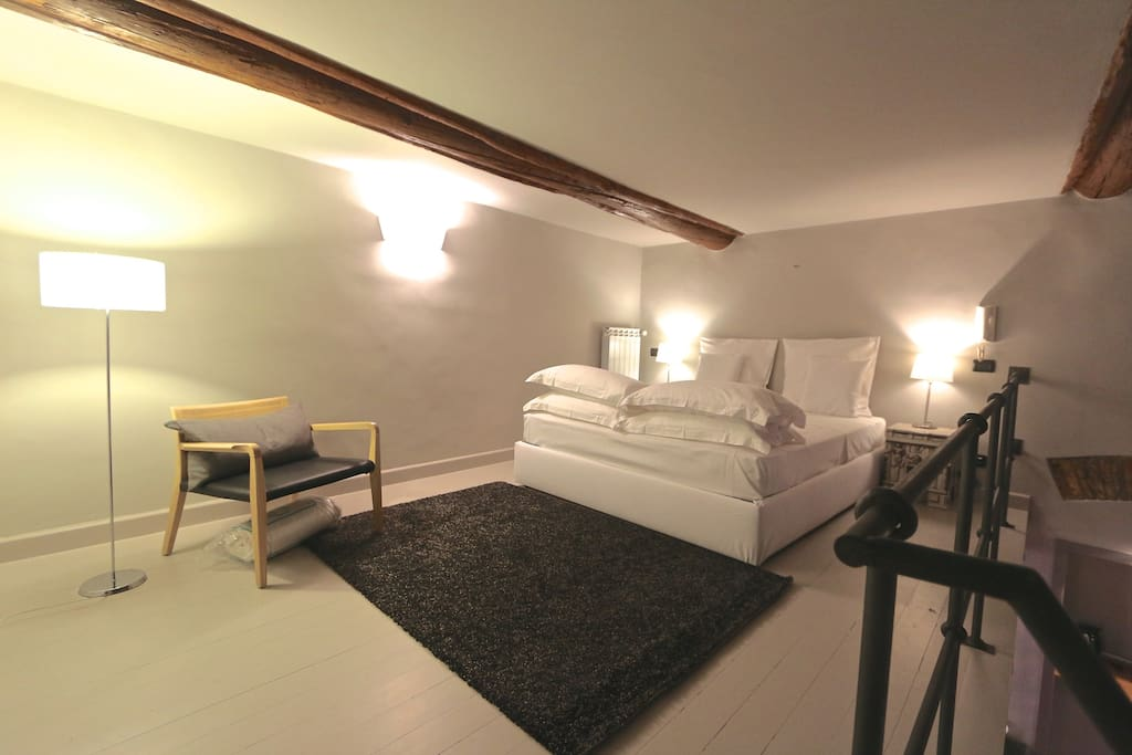 Double Bed on Spacious Loft