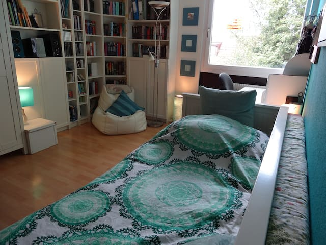 Double Bedroom close to Munich STATE FAIR in RIEM - Haar