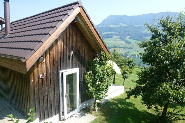 Bee House in a dreamlike location - Merlischachen - Hut