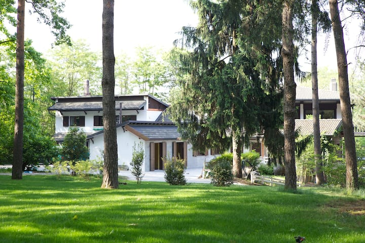 Big Apartment in National park next to Malpensa