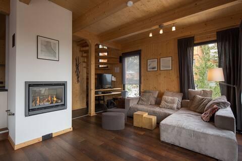 Dejlig hytte i Turracherhöhe med sauna og indendørs jacuzzi