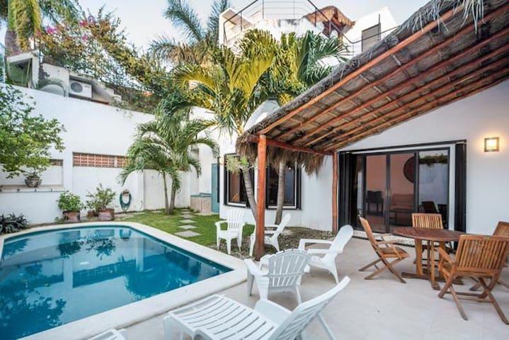 Swimming Pool, Rooftop Terrace - Cozumel - Hus