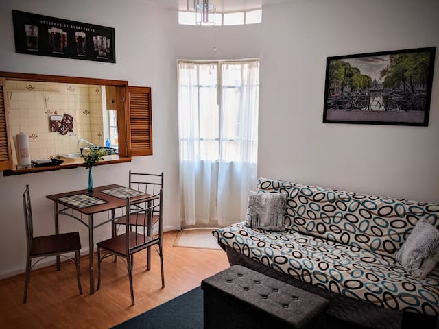 (3)Full Apartment with private Patio in Roma Norte