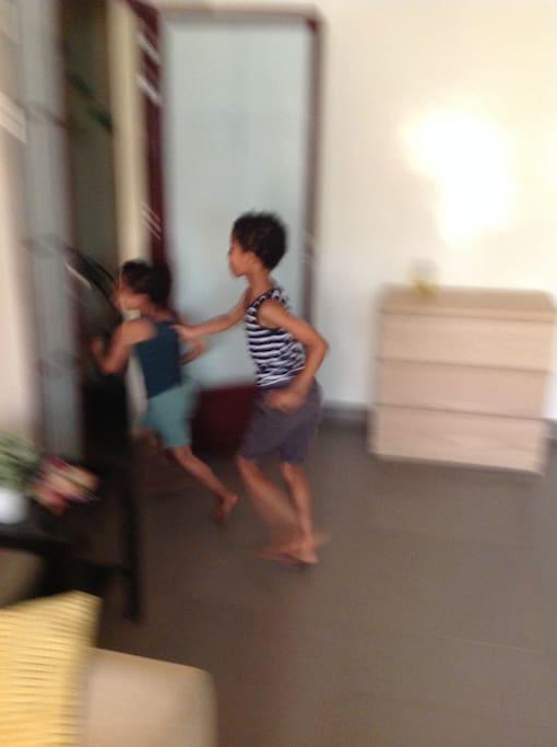 Spacieux les enfants s y plaisent!!!