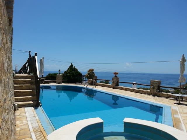 Relaxation House & Stunning View 2 - Megas Gialos - House