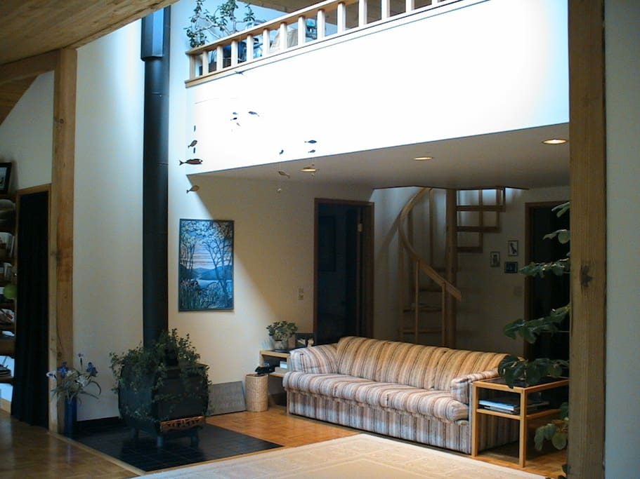 Living Room and loft