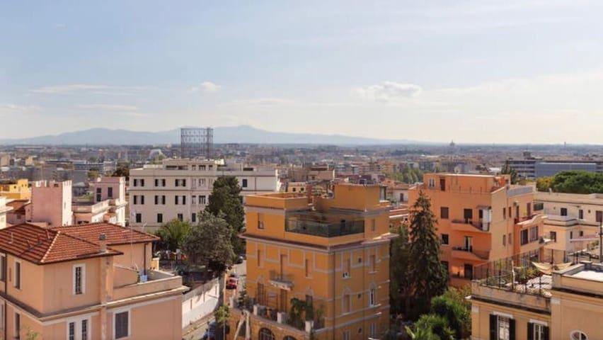 Panoramic Loft in Trastevere