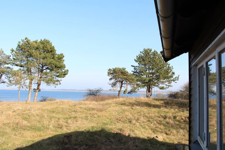 Summerhouse at island - fjordview - Holbaek - Kulübe