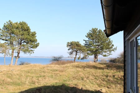 Summerhouse at island - fjordview - Holbaek - Hytte