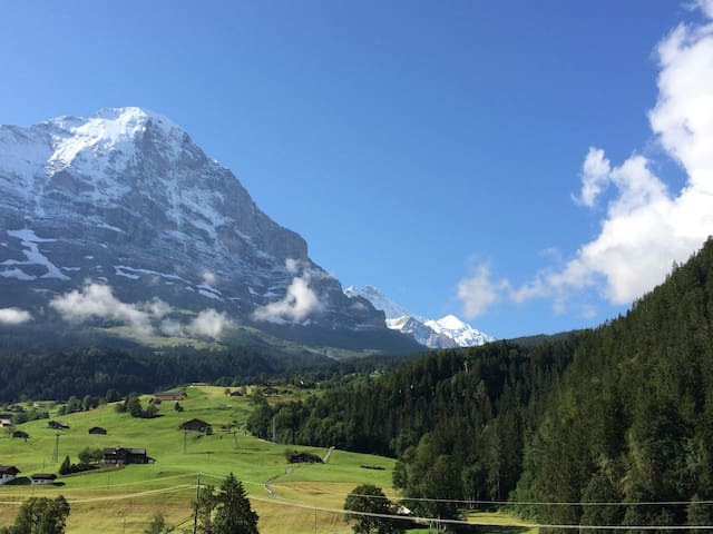 Grindelwald Top/Europe, Eiger views