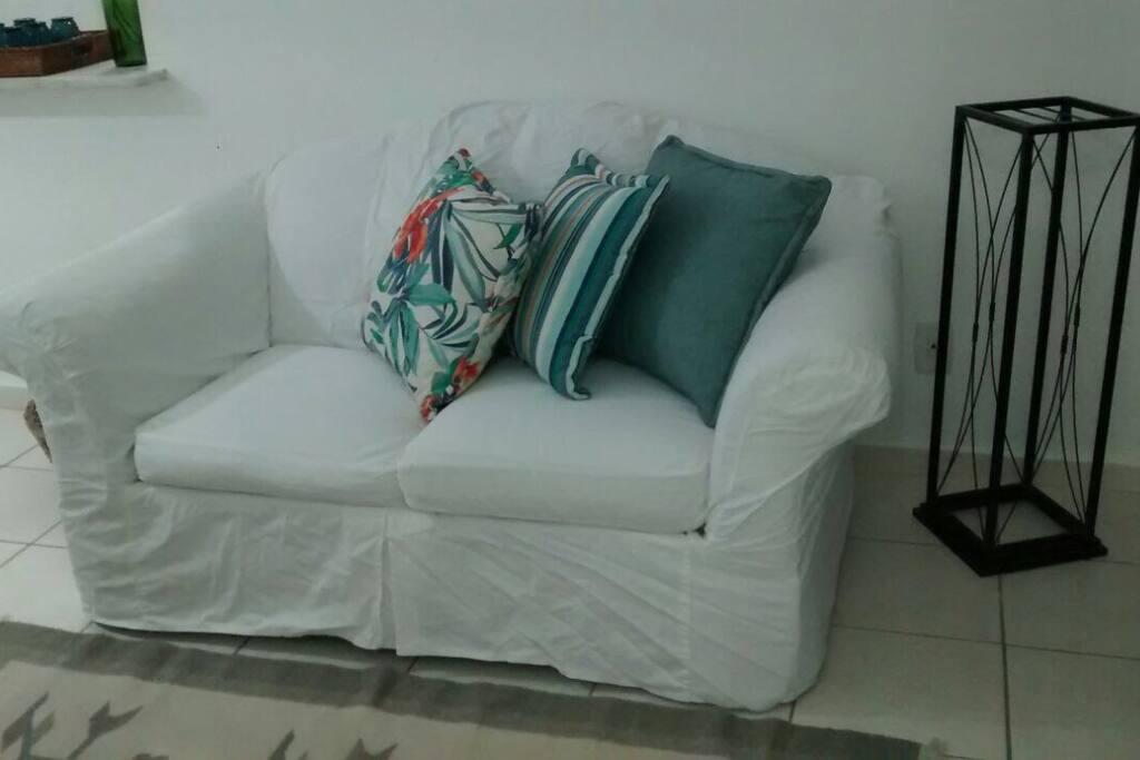 Apartamento todo mobiliado