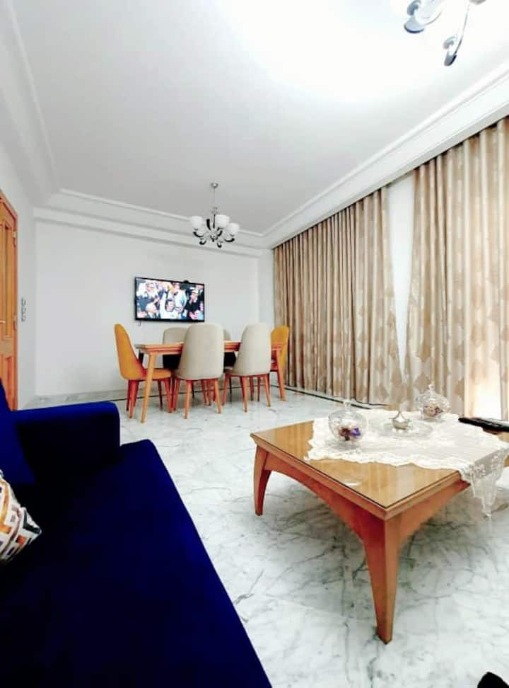 "Luxurious 3 rooms apartement ""Jardin de carthage"""