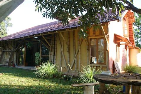 La casa de bambú