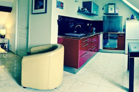 Cosy apartment in 5 minutes from Paris CDG airport - Louvres