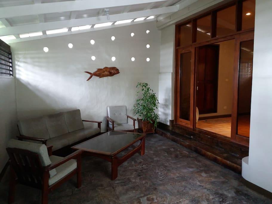 Indoor /Outdoor living room