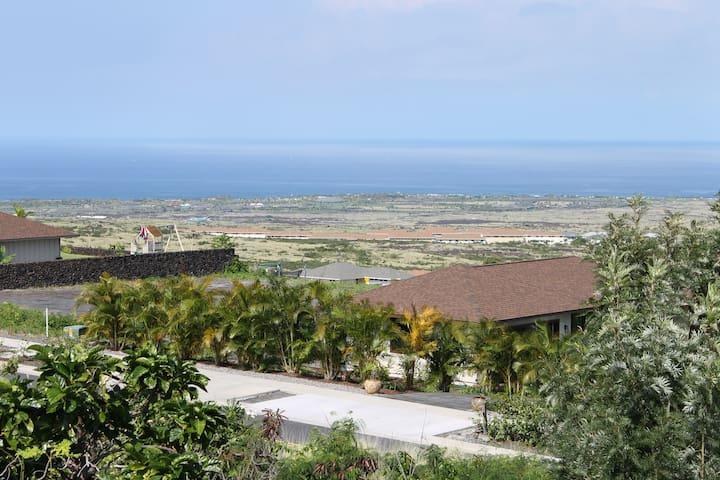 Ocean view from lanai front door.