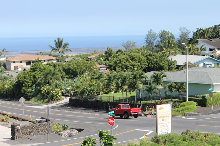 NW view from lanai.