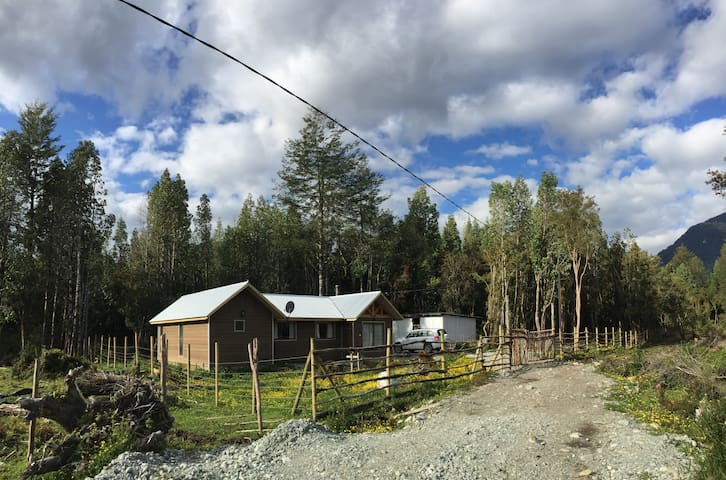 El Refugio de Hornopirén...