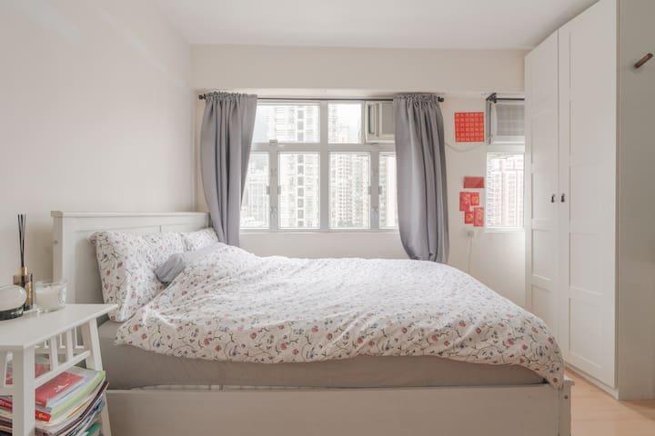 Homey & Cozy apartment in Sai Ying Pun