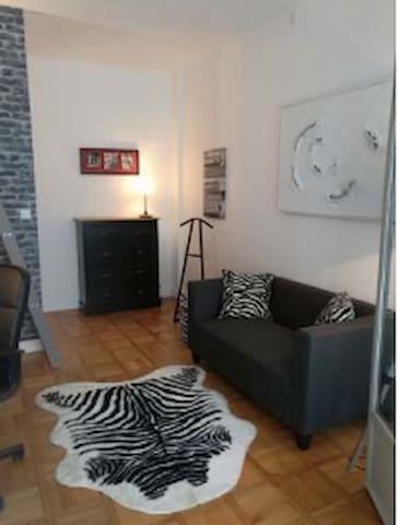 Super chambre dans un appartement en plein centre - Rouen - Wohnung