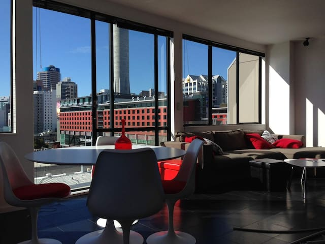 1 bedroom penthouse Skycity view - Auckland - Daire