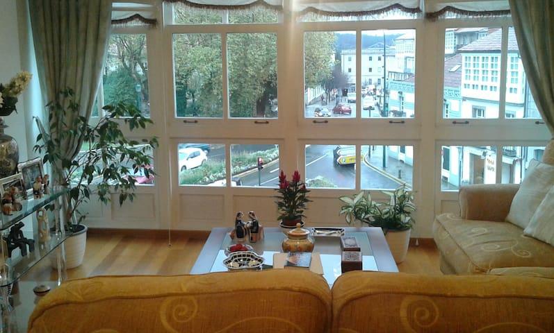Suite frente a la Alameda - Santiago de Compostela - Apartment