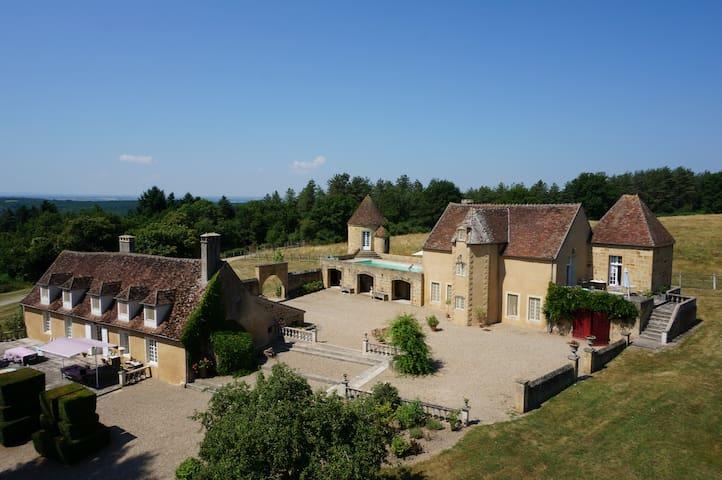 Manoir du Mortier - MEAULNE - Schloss