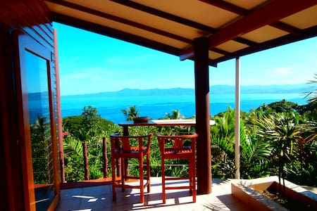 Apartment with stunning view & pool - Savusavu