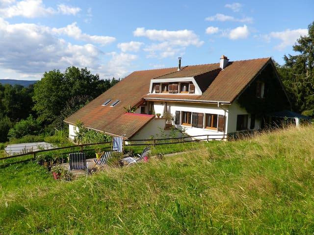 Gîte de la Goutte Boyemont - Lesseux - Alojamento ecológico