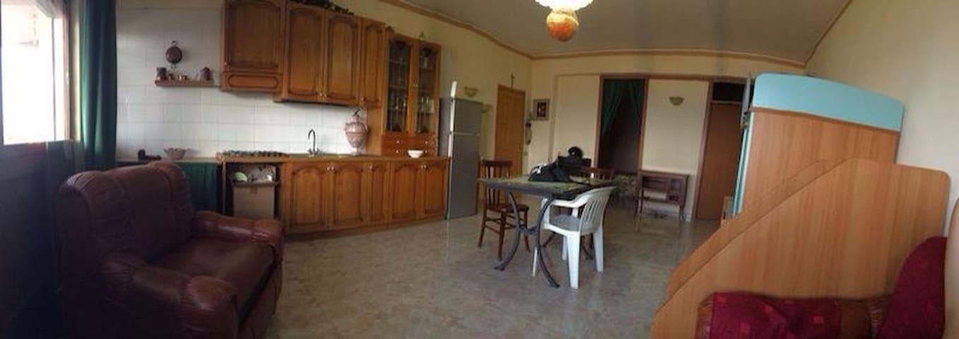 Comodo trilocale con vista mare - Santo Stefano di Camastra - Apartment