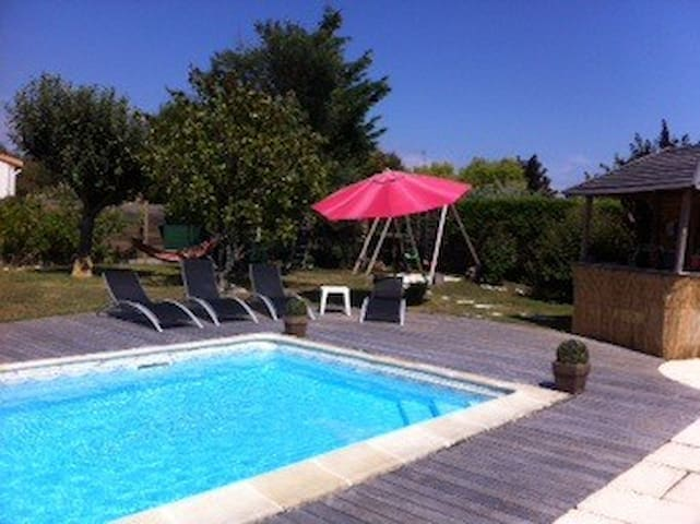 Near ocean Villa with garden & heated pool - Saint-Vincent-sur-Jard - Casa