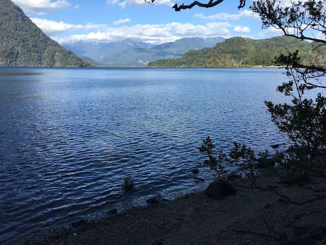 """Lago Maihue """"desconexión total"""""""
