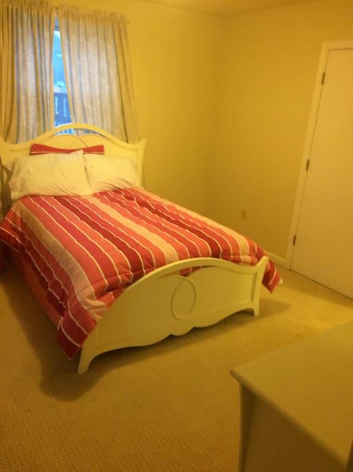 Room 2 third floor - 2 closets, dresser and full bath w washer/dryer