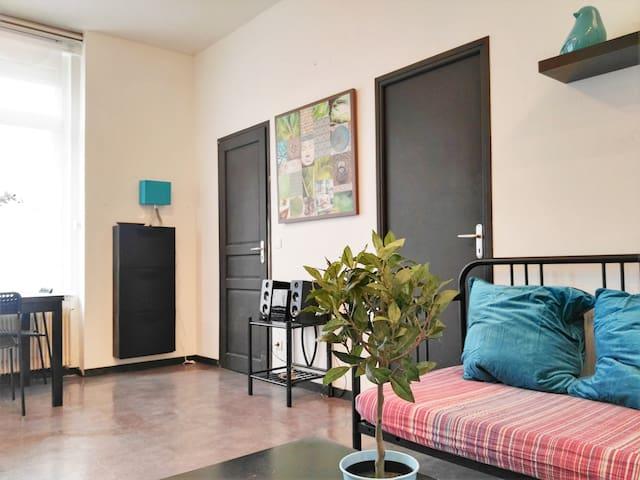 Chez Louise, beau T2 à Hénin-Beaumont - Hénin-Beaumont - Apartment