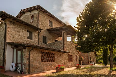 Bilocale Villa Norcenni all'interno di un resort - Figline Valdarno - Appartement