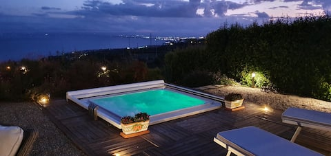 Cyclope's House. Amazing view and private mini SPA