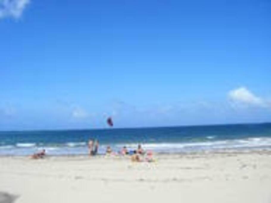 Typical scene Ocean Park Beach